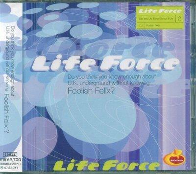 K - Foolish Felix - Life Force Mixed - 日版 2 CD - NEW