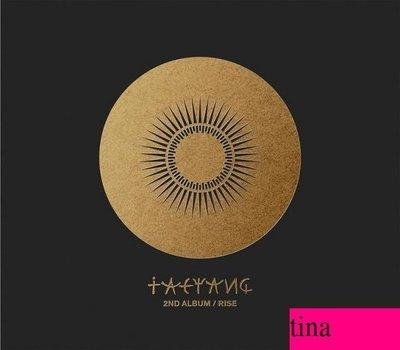 Big Bang 太陽韓國原版第二張專輯 Tae Yang 2nd Album - Rise 全新未拆