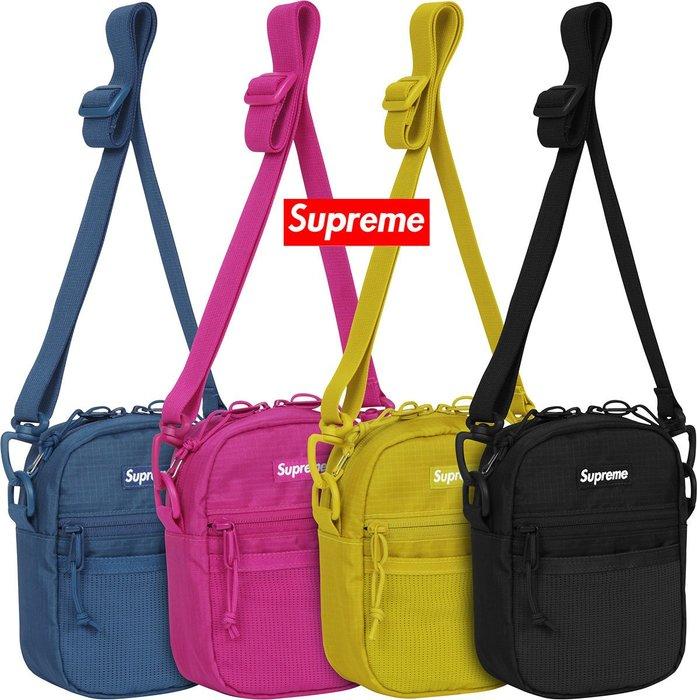 【超搶手】全新正品 2017 春夏 Supreme Small Shoulder Bag 42代 42TH 側背肩背小包
