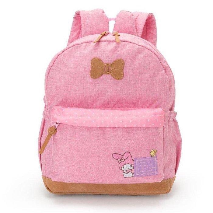 Baby Sheep 日本Sanrio 三麗鷗正版後背包 M號背包 上學書包 旅行背包 美樂蒂 立體造型