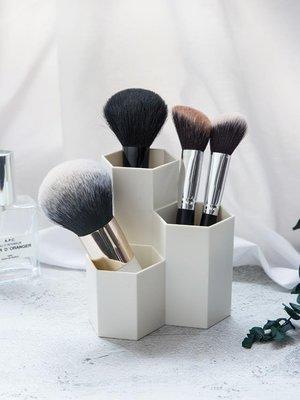 收納盒化妝刷收納筒美妝刷子桶整理盒化妝品收納盒女眉筆刷具美妝蛋收納