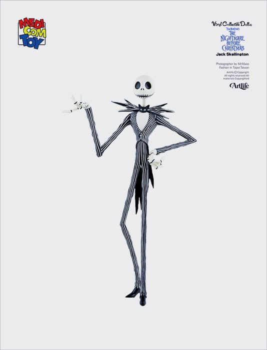 ArtLife @ MEDICOM 2005 VCD DISNEY XMAS JACK 聖誕夜驚魂 傑克
