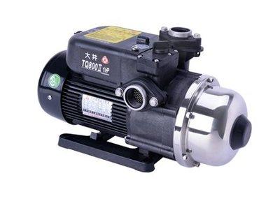 【 川大泵浦 】大井WARLUS TQ800B*1HP電子穩壓加壓馬達 TQ-800B 2020新機種 TQ800