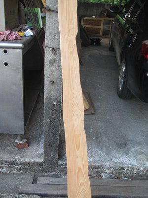 尋寶--台灣檜木--長168公分寬11--15公分厚2