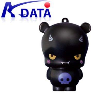 ADATA 威剛 T809 8GB 《黑色搗蛋惡魔》限量公仔隨身碟造型隨身碟
