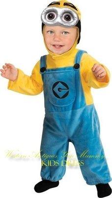 妍媽咪兒童禮服出租~神偷奶爸2 小小兵兒童造型服 Halloween ~萬聖節表演寫真攝影