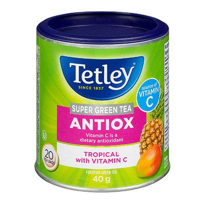 預購 ! 英國 Tetley 熱帶水果茶 (維他命C) 20包罐裝~香氣超紓壓~優雅的幸福感