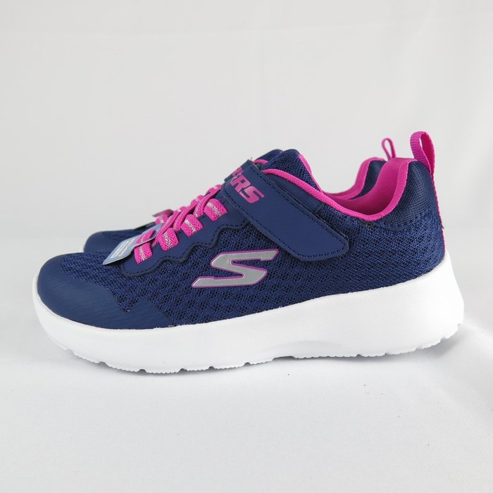 【iSport愛運動】Skechers DYNAMIGHT - LEAD RUNNER 81303LNVY 中童款