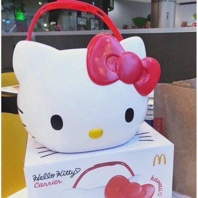 日本/泰國麥當勞限定兩用手提藍 美樂蒂/新幹線列車/凱蒂