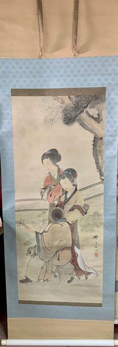 【阿鴻之寶】日本回流 雙美圖 附原裝盒
