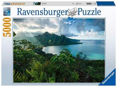 免運 預購~歐洲進口拼圖  RAV 風景 美麗的夏威夷 海洋  5000片拼圖 16106