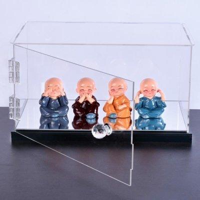 開門式亞克力展示盒透明 「花語夢」