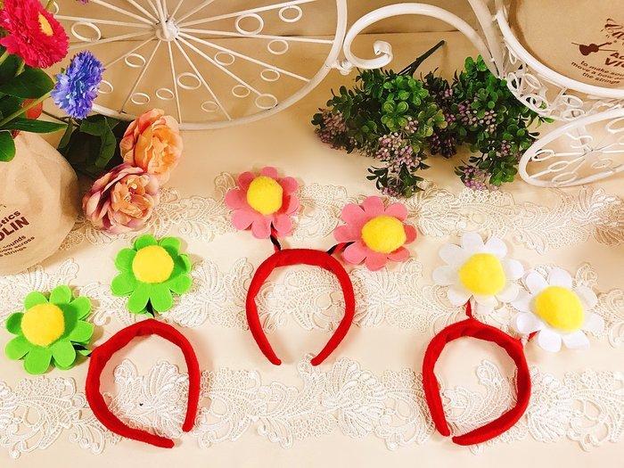 【華蕊】* 可愛花朵裝飾髮圈  * 活動表演 花博必備 另類搞怪