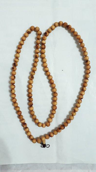 【九龍藝品】崖柏108顆 ~ 珠子約8mm,約24公克【2】競標