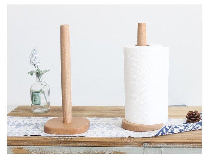 日系zakka 櫸木紙巾架 餐巾紙 卷紙架 廚房 餐廳 客廳 捲筒 廚房紙巾架 衛生紙 擦手紙