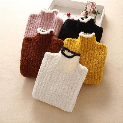 兒童毛衣女童高領毛衣秋冬季新款兒童裝打底針織衫加厚保暖套頭男童 全館免運