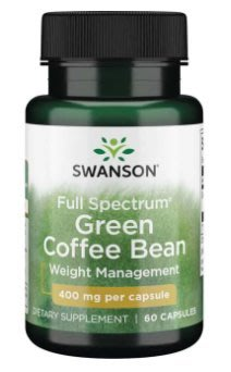【活力小站】Swanson Green Coffee Bean 綠咖啡 400mg 60顆