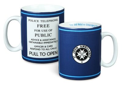 【丹】ThinkGeek_Doctor Who St John Ambulance 20oz Mug 超時空奇俠 馬克杯