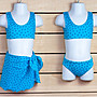 【子供の部屋】歐美品牌 女童 二截式 泳衣 泳裝
