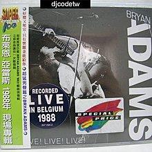 【djcodetw-CD】L1 Bryan Adams-1988年現場專輯(全新)
