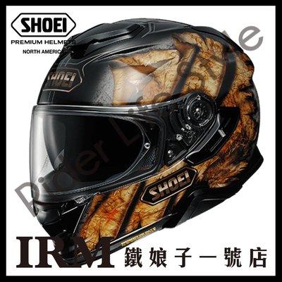 【鐵娘子一號店】公司貨 日本SHOEI GT-AIR II 2 全罩安全帽 TC-9 DEVIATION金黑 加長內墨片