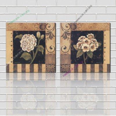 【40*40cm】【厚1.2cm】印象花卉-無框畫裝飾畫版畫客廳簡約家居餐廳臥室牆壁【280101_180】(1套價格)