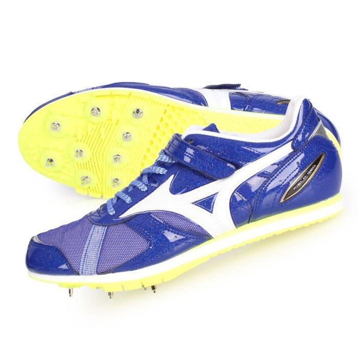MIZUNO FIELD GEO AJ-B 特定-日製男女田徑釘鞋 (免運 三級跳【02017801】≡排汗專家≡