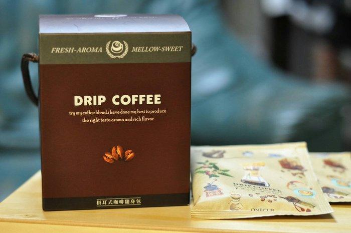 掛耳式咖啡--極品黃金曼巴 黃金比例 濃郁 香醇 10入裝 -(買4盒送1盒)