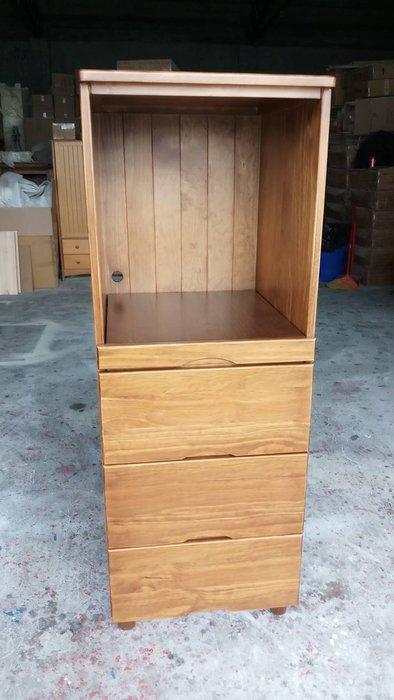 美生活館 鄉村傢俱訂製 紐西蘭松木原木 古銅色 客訂 電器收納櫃 雙門玻璃櫃 置物櫃 展示櫃  隔間櫃 也可修改尺寸顏色