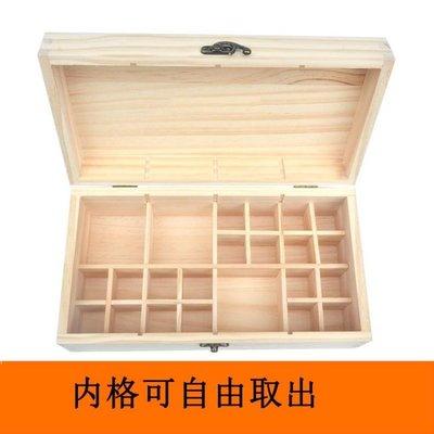 全店折扣活動 木盒 實木精油收納盒木盒15ML展示盒子32格放精油瓶木制箱高檔可放滾珠