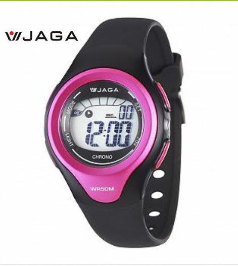 【 幸福媽咪 】網路購物、門市服務 JAGA 捷卡 多功能時尚電子錶 M1067