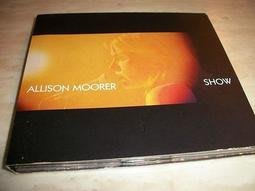 *阿威的音樂盒。CD。西洋*ALLISON MOORER【SHOW】品相優 值得收藏