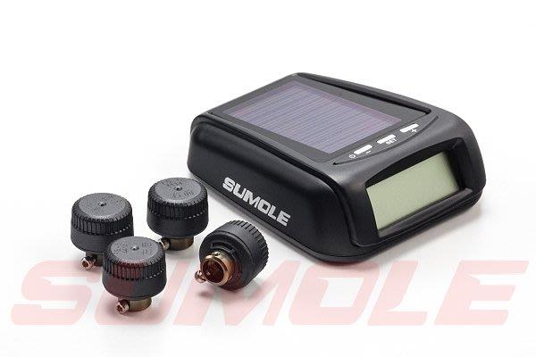 *狗狗的雜貨店*Sumole 太陽能TPMS,TPS1 第一代太陽能胎壓偵測器 監測器 無線胎壓 胎外款 TPS-1