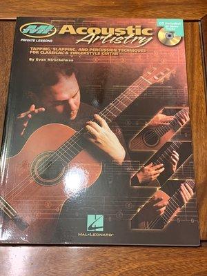 [Fingerstyle吉他音樂] — 指彈教材Acoustic Artistry(Evan Hirschelman)