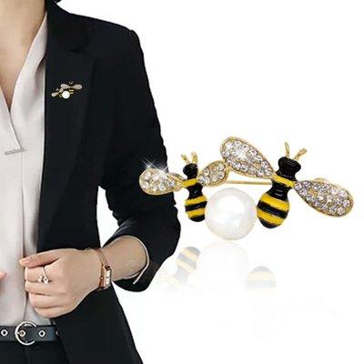 胸花哥弟阿瑪施專柜正品代購胸針配飾品襯衣西裝小蜜蜂胸花別針絲巾扣