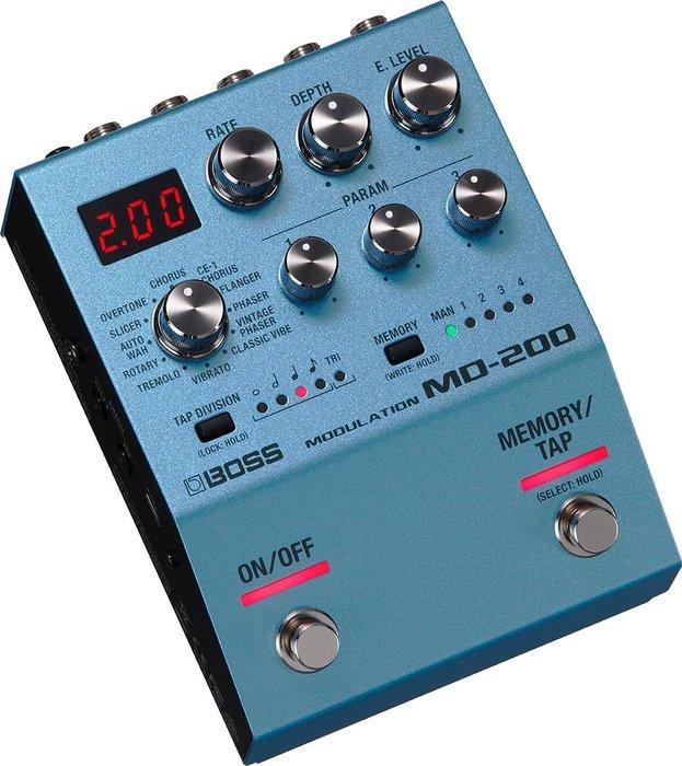 【六絃樂器】全新 BOSS MD-200 Modulation 調變效果器