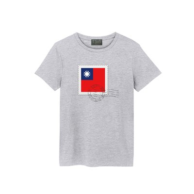 T365 TAIWAN 台灣 臺灣 愛台灣 國旗 國家 設計 郵票 郵戳 圖案 潮流 T恤 男女皆可穿 多色可選 短T