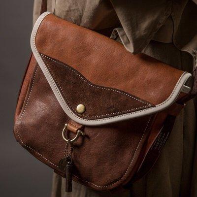 【老店佳】【全新/現貨商品】HEYOU Handmade - The Wayfarer's Bag -旅人馬鞍包咖色款