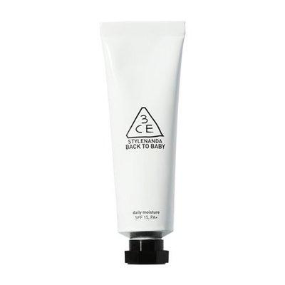 【韓Lin連線代購 】韓國 3CE   BACK TO BABY DAILY MOISTURE 保濕妝前乳
