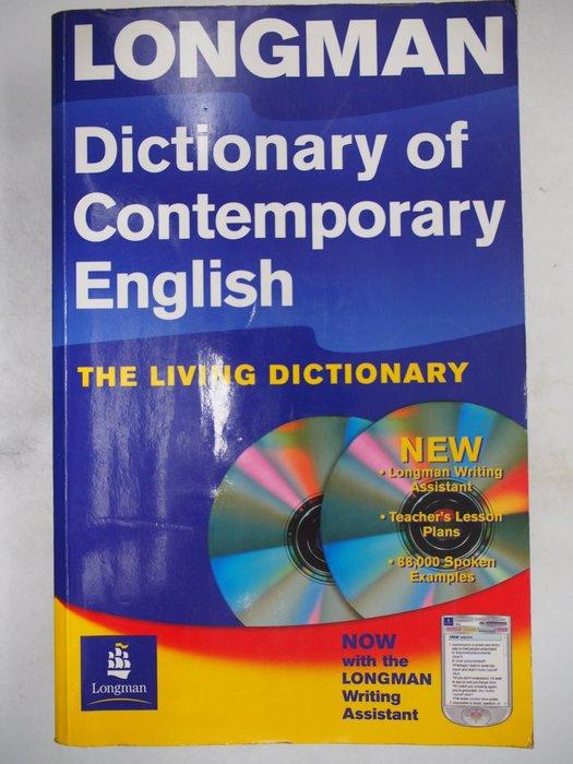 【月界】LONGMAN-Dictionary of Contemporary English_無光碟 〖字典〗AHY