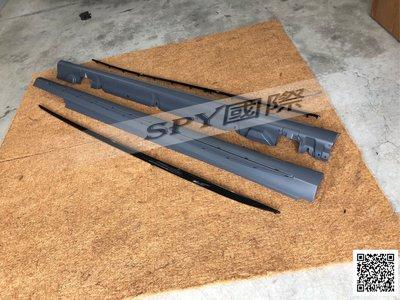 SPY國際 Benz W205 C300 63 AMG 側裙 PP材質 現貨供應 另有前保桿 後保桿 後下巴 尾飾管
