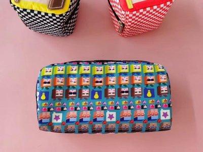 凱莉代購 Lesportsac 6511 魔術方塊 公主王子 化妝包 收納包 降落傘防水 限量 預購