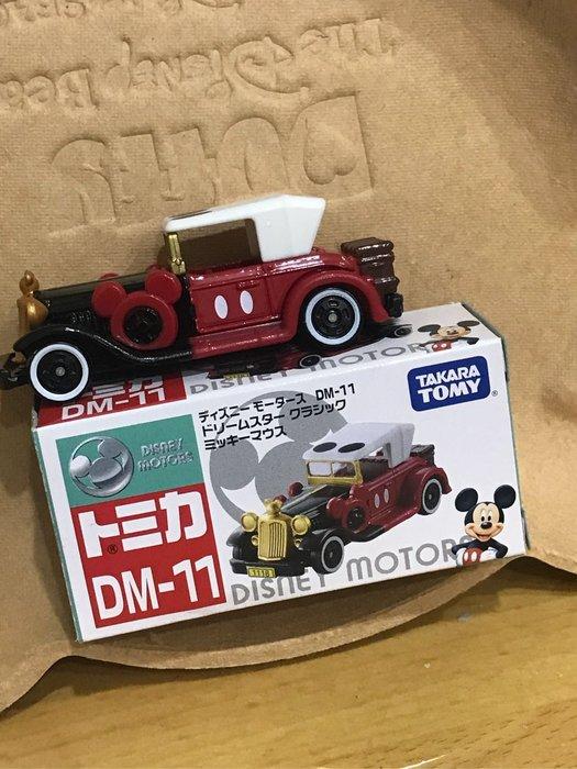 *凱西小舖*日本正版 TOMICA TOMY 米奇 夢幻古董車 多美小汽車