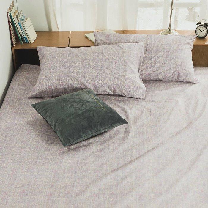 MIT精梳純棉-床包枕套組/雙人加大6尺【無限】絲薇諾