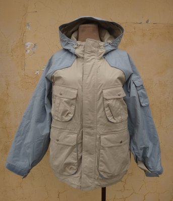 jacob00765100 ~ 正品 THE SPORTS AUTHORITY 水藍色 登山防風外套 size: S
