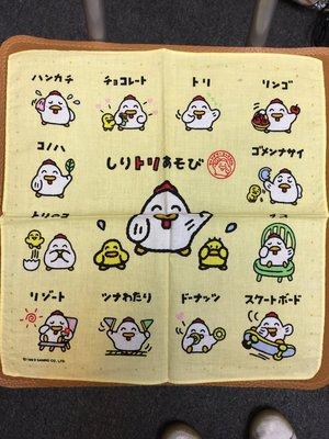 1993年 Sanrio 肥雞 手巾仔 未使用品