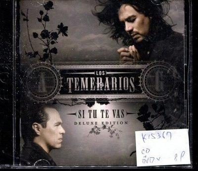 *真音樂* LOS TEMERARIOS / SI TU TE VAS DELUXE EDITION CD+DVD 二手 K15367 (封面底破)