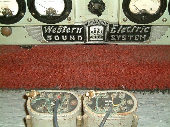 Western Electric 111C級間變壓器 600歐:600歐 一對價