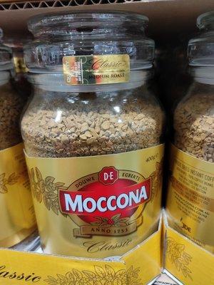 代購好市多COSTCO 商品~MOCCONA 中焙即溶咖啡粉400公克/罐