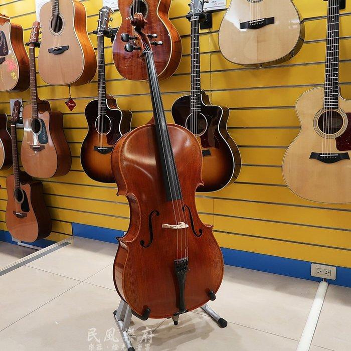 《民風樂府》德國 Lothar Semmlinger 德國製手工大提琴 4/4全琴 台藝大音樂系學生換琴托售 附原廠證書